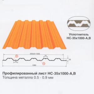 Профлист HC-35x1000-A,B